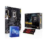 Intel Core i5 10600K - Asus Z490 - RAM 16Go 3200MHz
