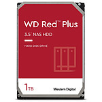 Western Digital WD Red Plus - 4 x 1 To (4 To) -  64 Mo