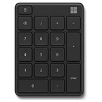 Microsoft Wireless Number Pad Noir
