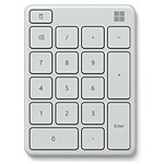 Microsoft Wireless Number Pad Blanc