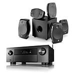 Denon AVC-X4700H Noir + Focal Sib Evo 5.1.2 Dolby Atmos Noir