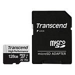 Transcend MicroSDXC 330S 128 Go + Adaptateur SD