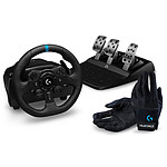 Logitech G923 (PC / Playstation) + Racing Gloves