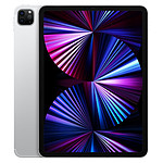 Apple iPad Pro 2021 11 pouces Wi-Fi + Cellular 5G - 128 Go - Argent