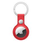 Apple Porte-clés en cuir AirTag - Rouge (PRODUCT)RED