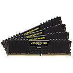 Corsair Vengeance LPX Black - 4 x 16 Go (64 Go) - DDR4 3600 MHz - CL18