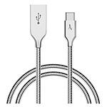 Akashi Câble USB-C - USB-A Métal Incassable - 1m