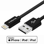 Akashi Câble USB-A vers Lightning MFI - 1m