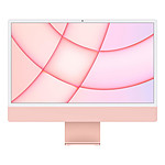 "Apple iMac (2021) 24"" 512 Go Rose (MGPN3FN/A-MKPN)"