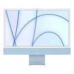 """Apple iMac (2021) 24"""" 256 Go Bleu (MJV93FN/A-MKTID)"""