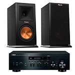 Yamaha MusicCast R-N402D Noir + Klipsch RP-160M Ebony