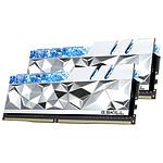 G.Skill Trident Z Royal Elite Silver RGB - 2 x 32 Go (64 Go) - DDR4 4000 MHz - CL18