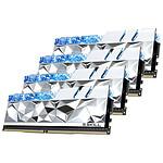 G.Skill Trident Z Royal Elite Silver RGB - 4 x 16 Go (64 Go) - DDR4 3600 MHz - CL16