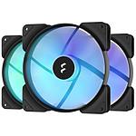 Fractal Design Aspect 14 RGB PWM - Pack de 3 - Noir