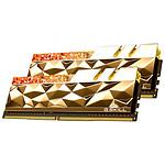 G.Skill Trident Z Royal Elite Gold RGB - 2 x 32 Go (64 Go) - DDR4 4000 MHz - CL18