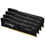 Kingston Fury Beast - 4 x 16 Go (64 Go) - DDR4 3000 MHz - CL15