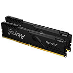 Kingston Fury Beast - 2 x 8 Go (16 Go) - DDR4 3200 MHz - CL16