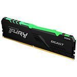 Kingston Fury Beast RGB - 1 x 8 Go (8 Go) - DDR4 3600 MHz - CL17