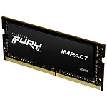 Kingston Fury Impact SO-DIMM - 1 x 16 Go (16 Go) - DDR4 2666 MHz - CL16