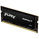 Kingston Fury Impact SO-DIMM - 1 x 32 Go (32 Go) - DDR4 3200 MHz - CL20