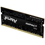 Kingston Fury Impact SO-DIMM - 1 x 4 Go (4 Go) - DDR3 1600 MHz - CL9