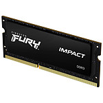Kingston Fury Impact SO-DIMM - 1 x 8 Go (8 Go) - DDR3 1600 MHz - CL9