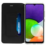 Akashi Etui Folio (noir) - Samsung Galaxy A22 4G