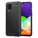Akashi Coque TPU Renforcée (noir) - Samsung Galaxy A22 4G