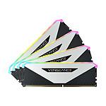 Corsair Vengeance RGB RT White - 4 x 16 Go (64 Go) - DDR4 3200 MHz - CL16
