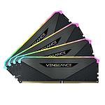 Corsair Vengeance RGB RT - 4 x 16 Go (64 Go) - DDR4 3600 MHz - CL18