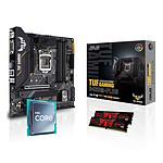 Intel Core i5 10400F - Asus B460 - RAM 16Go