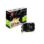 MSI GeForce GT 730 - 4 Go DDR3 (N730K-4GD3/OC)