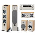 Denon AVC-X6700H Argent + Focal Pack Chora 826-D Light Wood