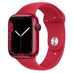 Apple Watch Series 7 Aluminium ((PRODUCT)RED - Bracelet Sport (PRODUCT)RED) - GPS - 45 mm
