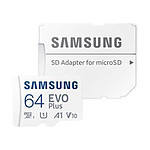 Samsung EVO Plus microSD 64 Go