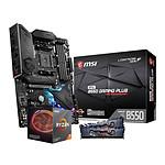 AMD Ryzen 7 3800X - MSI B550 - RAM 16 Go