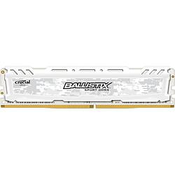 Ballistix Sport LT White DDR4 8 Go 2666 MHz CAS 16 DR