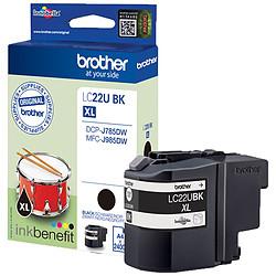 Brother LC22UBK Noir ultra haute capacité