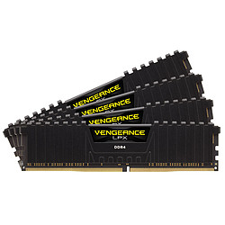 Corsair Vengeance LPX Black - 4 x 16 Go (64 Go) - DDR4 2400 MHz - CL16