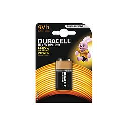 Duracell Piles Alcaline Plus Power 9V 6LR61 (à l'unité)