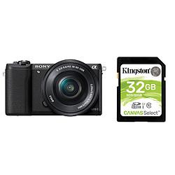 Sony Alpha 5100 + 16-50 mm Noir (DUPLICATION)