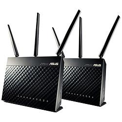 Asus Pack de 2 routeurs RT-AC67U AC 1900 AiMesh
