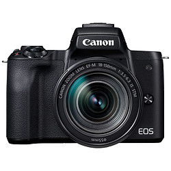 Canon EOS M50 + 15-45 mm Noir + EF M 18-150 mm IS STM