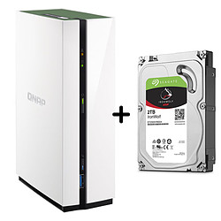 QNAP NAS TS-128A - 1 Go + Seagate IronWolf - 2 To