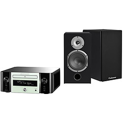 Marantz MCR611 N1W  Melody Stream, Radio internet, WiFi + Cabasse Antigua MT32 Noir Satin