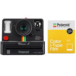Polaroid OneStep+ Noir + Polaroid Color i-Type Film
