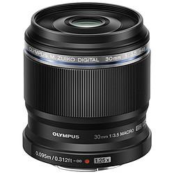 Olympus M.ZUIKO DIGITAL ED 30mm 1:3.5 Macro Noir