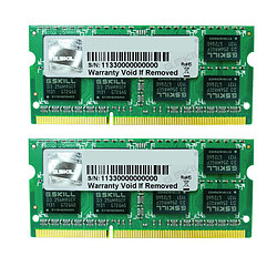 G.Skill SO-DIMM DDR3L 2 x 8 Go 1600 MHz SQ CAS 9