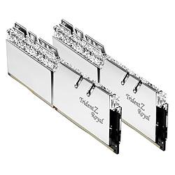 G.Skill Trident Z Royal Silver RGB - 2 x 8 Go (16 Go) - DDR4 4000 MHz - CL17