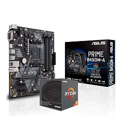 AMD Ryzen 5 2600X + Asus Prime B450M-A